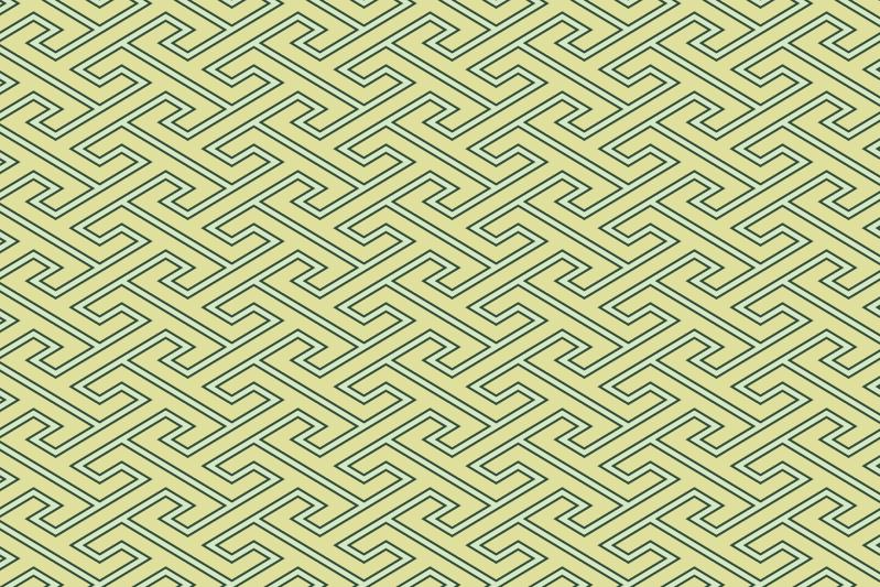 工字繋ぎのパターン4