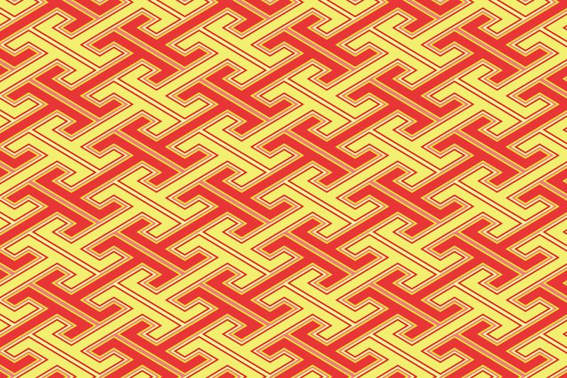 工字繋ぎのパターン5