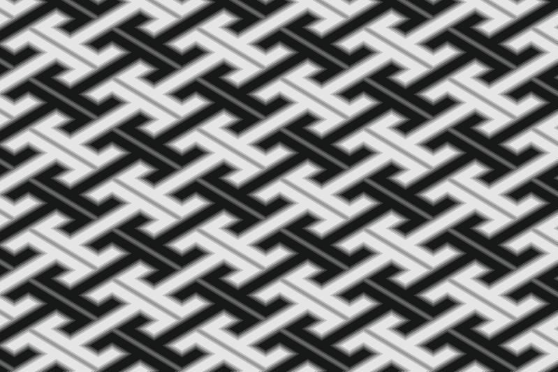 工字繋ぎのパターン7