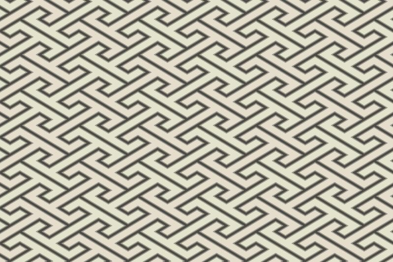 工字繋ぎのパターン8